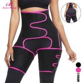 Lover-Beauty Neoprene Butt Lifting Leg Shaper Body Shaper Pants Waist Trainer Slimming Belt Fat Burning Butt Lifter Shapewear