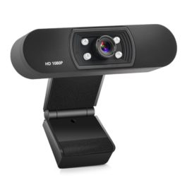 Full HD USB Webcam 1080P Web Camera Built-in Stereo Microphone 920 x 1080p USB Computer Webcam Skype Video Call For PC Laptop (Black)