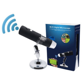 2020 Newest 3 colors 1080P WIFI Digital 1000x Microscope Magnifier Camera for Android ios iPhone iPad
