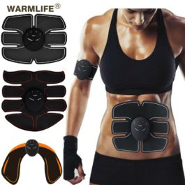 EMS Wireless Muscle Stimulator Smart Fitness Abdominal Training Electric Weight Loss Stickers Body Slimming Belt Unisex