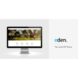 Eden – Retina Multi-Purpose WordPress Theme