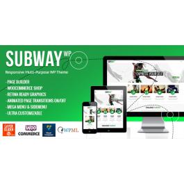 Subway – Responsive Multi-Purpose WordPress Theme