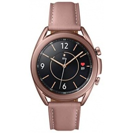 SAMSUNG Galaxy Watch 3 (41mm, GPS, Bluetooth) Smart Watch with Advanced Health Monitoring, Fitness Tracking, and Long Lasting Battery – Mystic Bronze (US Version)