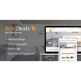 Best Deals – A Modern Property Sales & Rental WordPress Theme