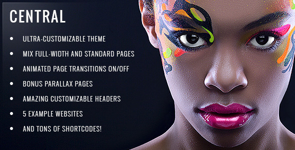 Central – Versatile, Multi-Purpose WordPress Theme
