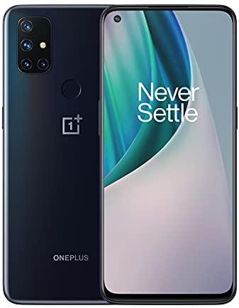 OnePlus Nord N10 5G Unlocked Smartphone, Midnight Ice, 90Hz Refresh Rate, 6GB RAM + 128GB storage, US Version, Model BE2026