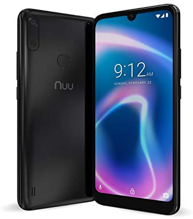 NUU Mobile X6 Plus Verizon T-Mobile AT&T 4G LTE Unlocked Android 10 Smartphone | 32GB + 3GB RAM | 6.1″ HD+ Display | 13 + 5 MP Camera | 3120 mAh Battery