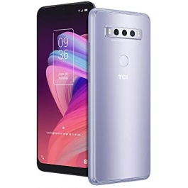 TCL 10 SE Unlocked Android Smartphone, 6.52″ V-Notch Display, US Version Cell Phone with 16 MP Rear AI Triple-Camera 4GB RAM + 64GB ROM, 4000mAh Fast Charging Battery, ICY Silver