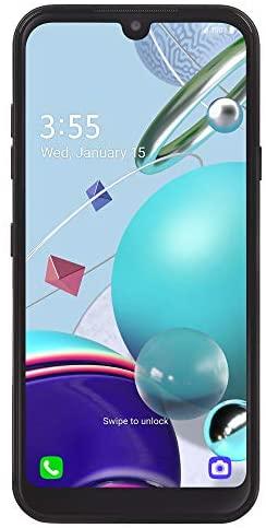 TracFone LG K31 Rebel 4G LTE Prepaid Smartphone (Locked) – Black – 32GB – Sim Card Included – CDMA