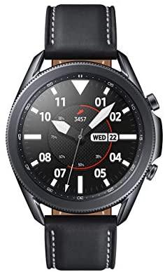 SAMSUNG Galaxy Smart Watch 3 (45mm, Mystic Black) (Renewed)