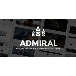 Admiral – Unique Multipurpose WordPress Theme