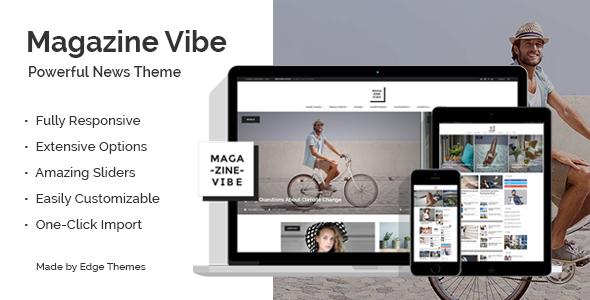 Magazine Vibe – Newspaper Theme