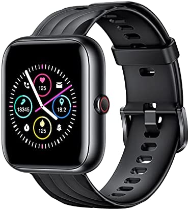 """Smart Watch, Fitness Tracker 1.5"""" HD Touch Screen with Heart Rate Monitor Blood Oxygen Sleep Tracking, 18 Sport Modes IP68 Waterproof Fitness Watch for Men Women iPhone Android Phones Compatible"""