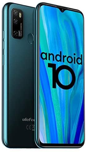 Unlocked Smartphones Ulefone Note 9P (2020) Android 10 Unlocked Cell phones, Triple Rear Camera Triple Card Slots, 6.52″ Waterdrop Full-Screen Dual SIM Phones, 4500mAh Global Bands, US Version – Green