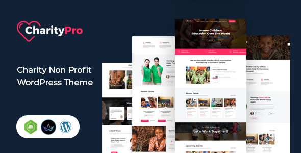 Charity Pro – Fundraising WordPress Theme