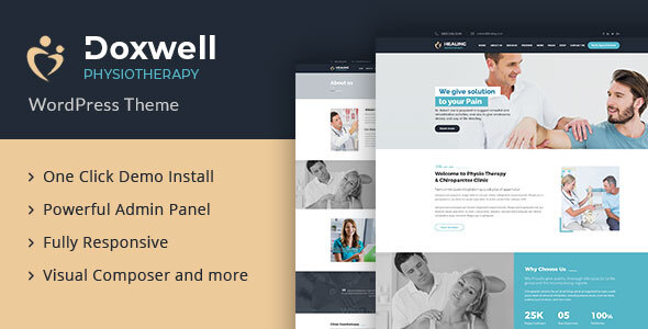 Doxwell : Physical Therapy WordPress Theme