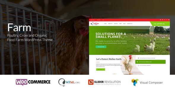 Farm – Organic Poultry WordPress Theme